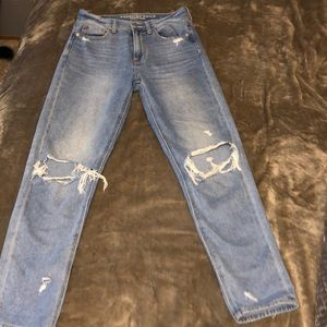 American eagle denim boyfriend jeans
